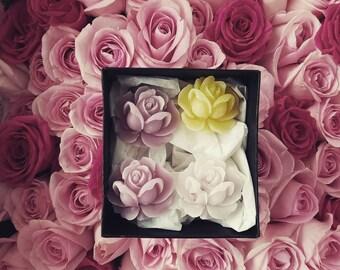 Organic Wax Roses