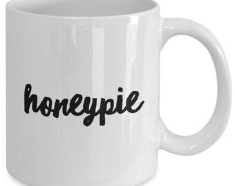 Love Gift coffee mug - Honeypie - Unique gift mug for him, her, mom, dad, kids, husband, wife, boyfriend, men, women