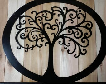 Tree of Life Metal Sign - FREE SHIPPING