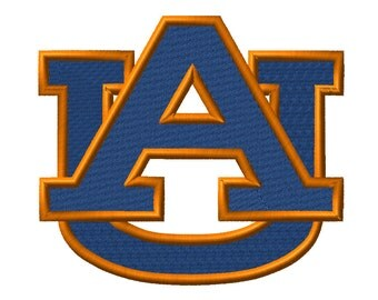 9 SIZE! Auburn Tigers Embroidery Designs College Football Embroidery Designs PES Digital Machine Embroidery Instant Download