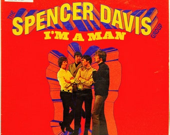 Spencer Davis Group 60's Rock Lp I'm A Man Winwood United Artists