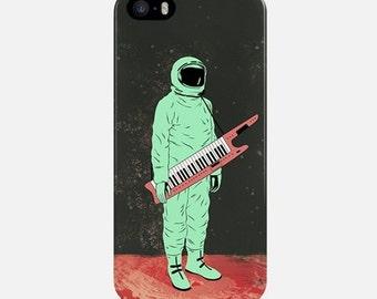 iPhone Case Cosmonaut, Phone Case Space, iPhone 6 Case, iPhone 7 Case, Funny iPhone 6 Plus Case, iPhone 5s Case, iPhone 4 Case, Music