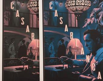 Casablanca movie poster art print large size