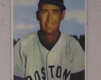 1954 bowman ted williams #66 extremely rare card