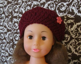 American Girl Doll Beret Hat