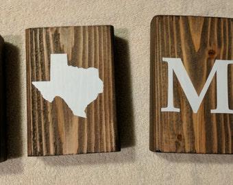 Texas Home Blocks