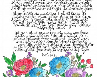 Handmade Fragrance Prayer Card