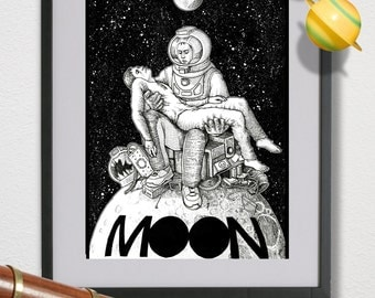 Moon- Alternative Movie Poster