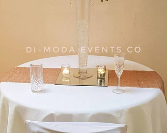 Hydrangea rose and lily flower ball centrepiece-Hire Only in London