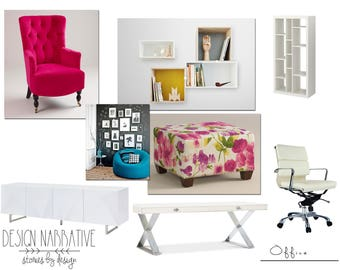 On line interior  design -Story No.  three