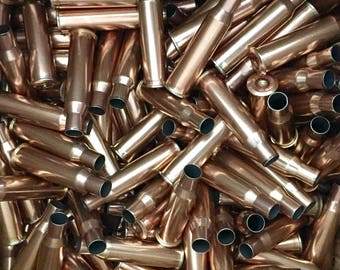 Copper Russian 7.62x54r Bullet Casings Cleaned Individually Inspected - Empty Shells