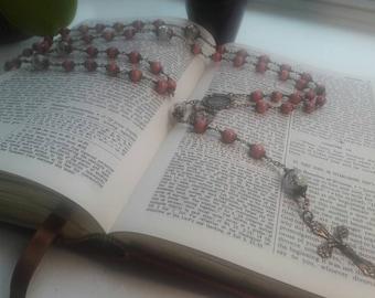 Dandelion Flower Rosary honoring St. Mother Teresa of Calcutta