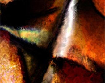 Abstract Art - Digital Download - Martian Complex