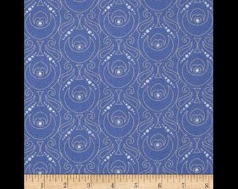 Prince Blue shield metallic silver silver plated accent fabric for patchwork cushions binding elegant decor