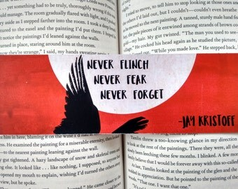 Nevernight Bookmark