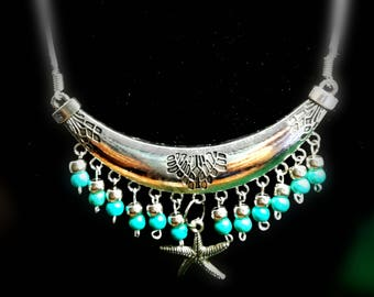 Egyptian style necklaces
