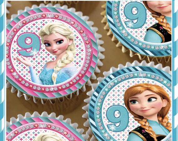 Frozen Chocolate Covered Oreos - custom birthday number 2 Dozen