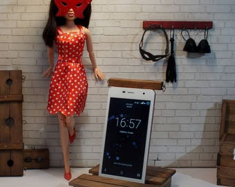 BDSM Phone stand   IPhone stand   Smartphone stand   BDSM   Doll Dungeon accessory   Dollhouse miniature   Phone accessory   Mature