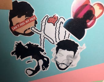 The Weeknd stickers