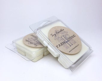 Honeysuckle Jasmine Soy Wax Melts, Soy Wax Tarts, Soy Wax Cubes, Handmade Wax Melts, Homemade Wax Melts