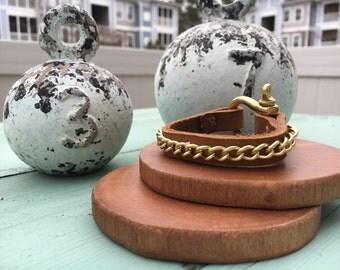 Leather Bracelet - Bracelet - Everyday Bracelet - Stackable Bracelet - Jewelry - Layered Bracelet - Wrap Bracelet - Friendship Bracelet