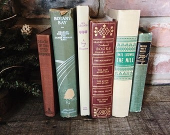 Old Books - 1906 Robert Louis Stevenson, A. J. Cronin & other Old Books