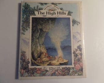 Brambly Hedge Book The High Hills by Jill Barkley 1986 Children's Book