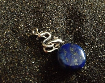 Pendant in Silver 925 and lapis