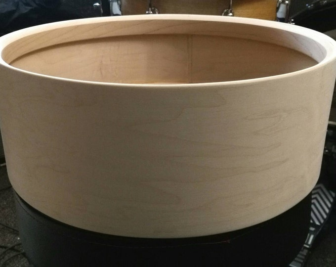Vintage style 14x5 3ply maple, poplar, maple bare snare drum shell by Erie drums