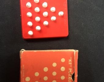 "Vintage ""KE"" Puzzle Game"