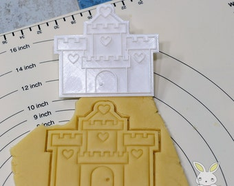 Castle of Princess Cookie Cutter and Stamp