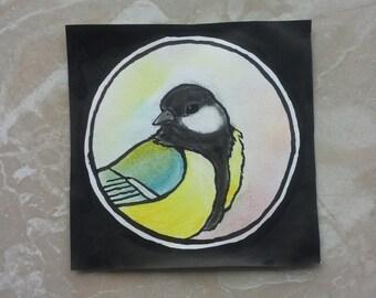 Small bird portrait