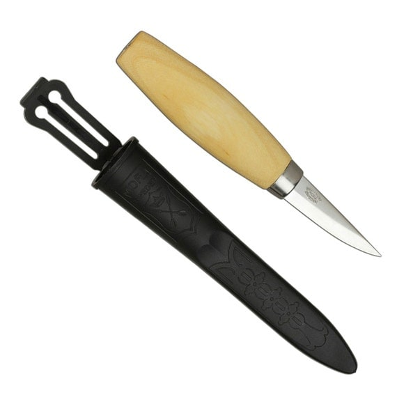 Mora Carving Knife 122: Mora 120 Wood Carving Knife