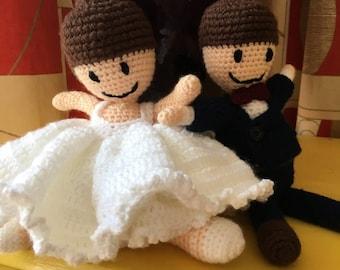 Bride and Groom Crochet