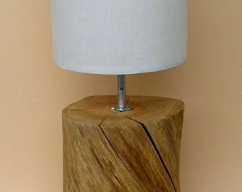 "Table lamp with stumps of the Landwehr Canal ""Berlin"""