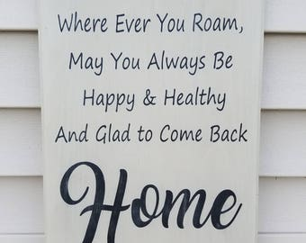 "12x18 ""Home"" Sign 
