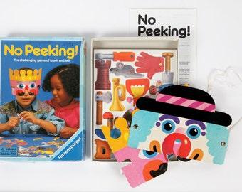 Vintage game-No peeking