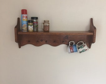 Spice rack/coffee mug holder