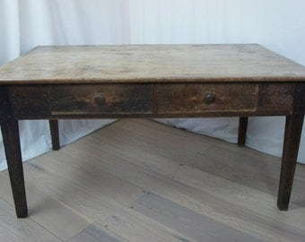 Rustic Vintage French Farmhouse Table