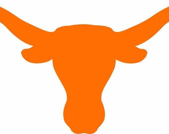 "2-Texas Longhorns Cornhole Decals 15"" Multiple colors , Free shipping"