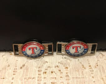Texas Rangers Shoe Lace Tags/Texas Rangers/Texas Rangers Baseball/Rangers Shoe Lace Tags/Rangers Fan Gear/Rangers Fan Gift/Rangers