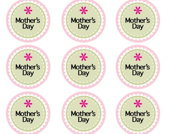 Mother's Day Label/Sticker - Printable