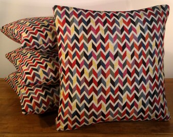 """Zig-Zag 14"""" Scatter Cushion Cover"""