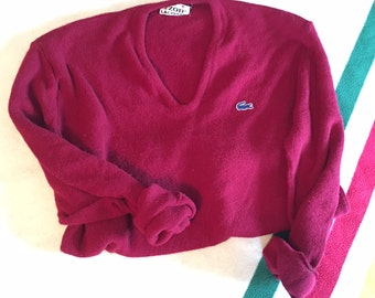 80s Lacoste Sweater