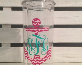 Monogrammed Water-Bottle, 15 Monogram designs available!