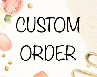Custom T-Shirt Order