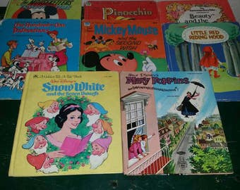 Collection of Vintage cartoon books