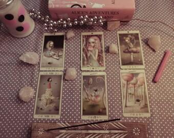 Alice in Wonderland Tarot Reading