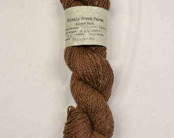 Crescendo 2-ply sport weight Alpaca Blend yarn