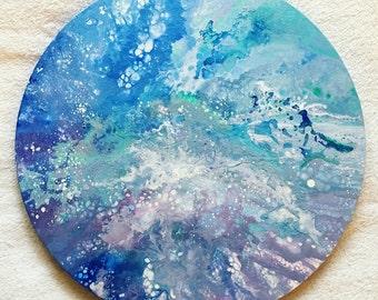 Magicum-original fluid type on circle canvas